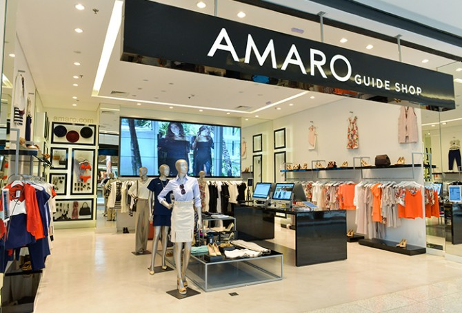 1f851d188 A Amaro é um dos expoentes brasileiros da influência da tecnologia na moda.  O setor